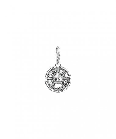 Thomas Sabo Lucky Coin Joia Charm Mulher 1682-637-21