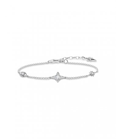 Thomas Sabo Lucky Charms Joia Pulseira Mulher A1918-051-14-L19V