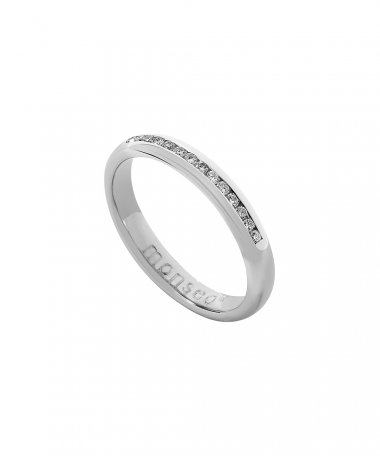 Monseo Moments Joia Anel Mulher Ouro 19.2K e Diamantes AN0629