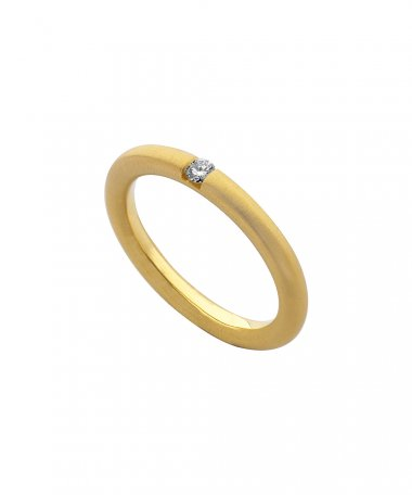 Monseo Moments Joia Anel Mulher Ouro 19.2K e Diamante AN0947