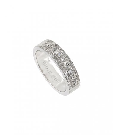 Monseo Moments Joia Anel Mulher Ouro 19.2K e Diamantes AN2266