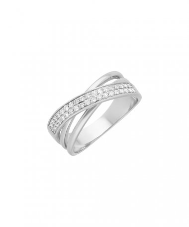 Encantus Expression of Love Joia Anel Ouro 19.2K e Diamantes Mulher AN3815M