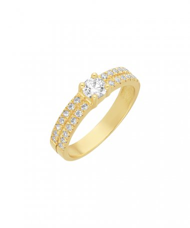 Encantus Sonnet Joia Anel Ouro 19.2K Mulher AN3885A