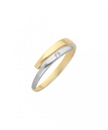 Encantus Love Spiral Joia Anel Ouro 19.2K Mulher AN4024AI
