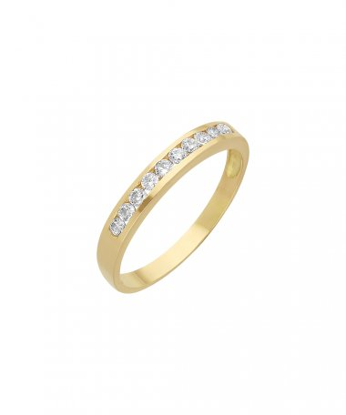 Encantus Cherish Joia Anel Ouro 19.2K Mulher ANS0070