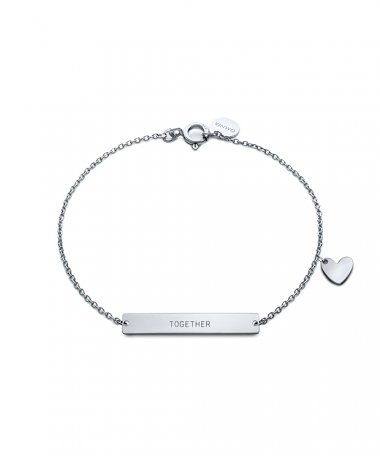 Omnia Messages Joia Pulseira Mulher B1579-P-1