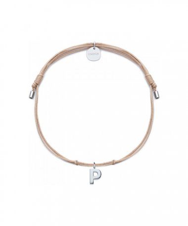 Omnia Letters P Joia Pulseira Mulher B1637C-P-P