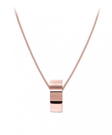 Rosefield Wave Charm Joia Colar Mulher BWCNR-J207