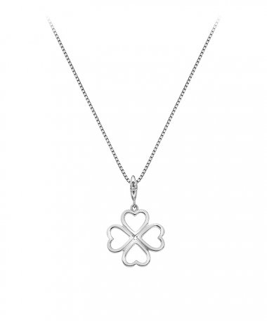 Hot Diamonds Lucky in Love Joia Colar Mulher DP768