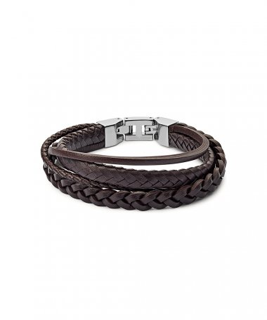 Fossil Vintage Casual Joia Pulseira Homem JF03190040