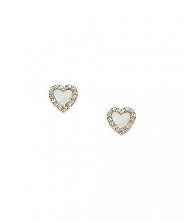 Fossil Heart Joia Brincos Mulher JF03215710