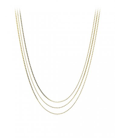 Fossil Multi-Strand Joia Colar Mulher JF03359710