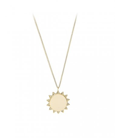 Fossil Sun Joia Colar Mulher JF03380710