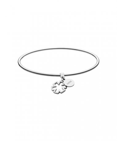 One Energy Blessing Saúde Joia Pulseira Bangle Mulher OJEBMBSA01