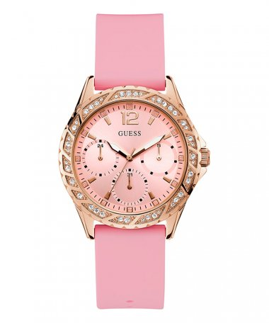 Guess Sparkling Pink Relógio Mulher W0032L9