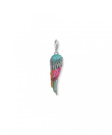 Thomas Sabo Parrot Wing Joia Charm Mulher Y0042-845-7
